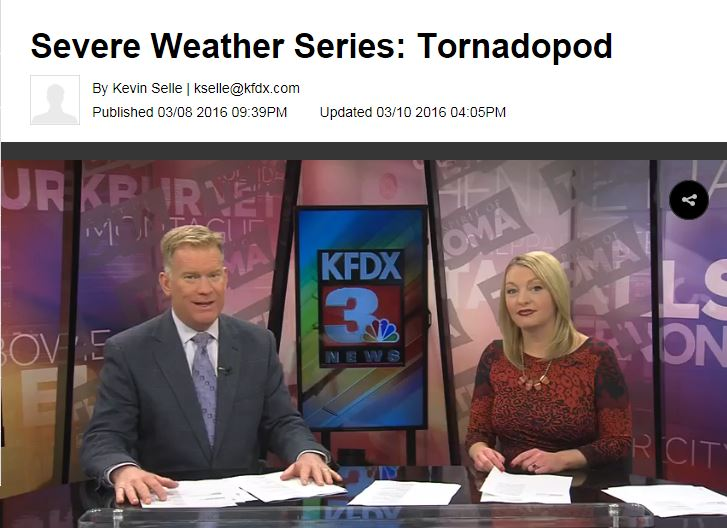 KFDX Severe Weather series vol. 1.