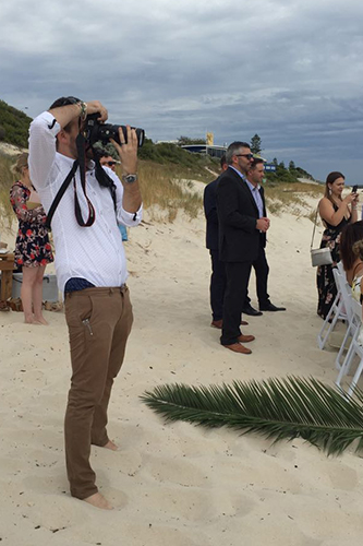 Shooting Jodie & Dylans Wedding.