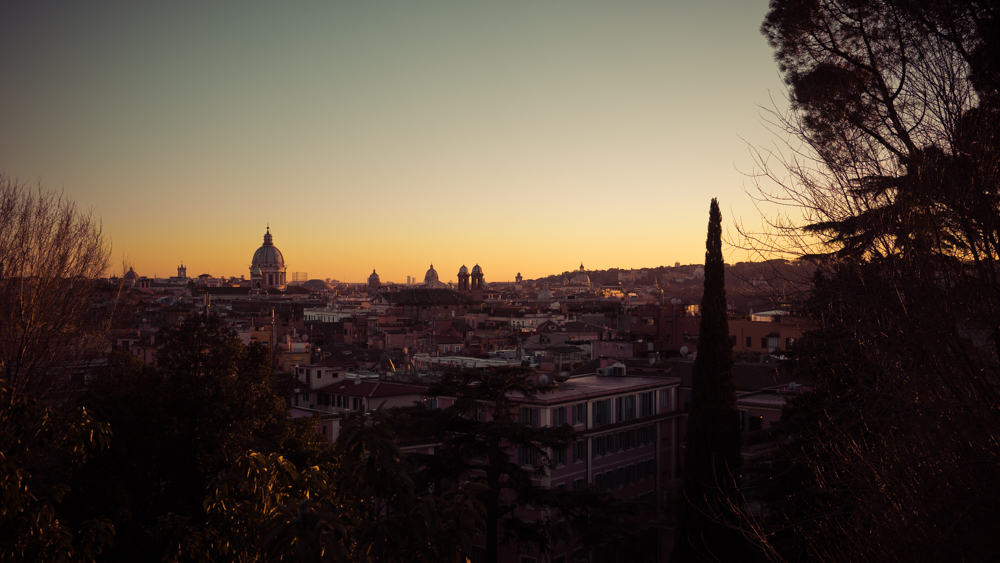 Just Another Rome Sunset