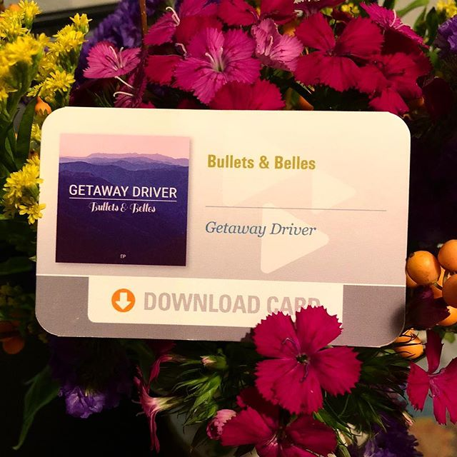 Got these sweet Download Cards for Getaway Driver today! Looking forward to playing more shows and handing em out! 🛣🌺 . . . . . . . #cdbaby #newmusic #pdxmusic #pdxnow #spotifyartist #music #love #doowop #folk #love #portland #saltlakecity #familyband