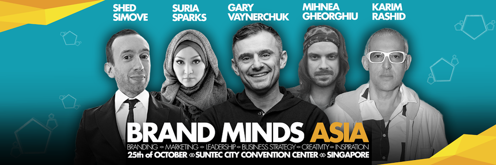 Header of the BrandMinds Asia event
