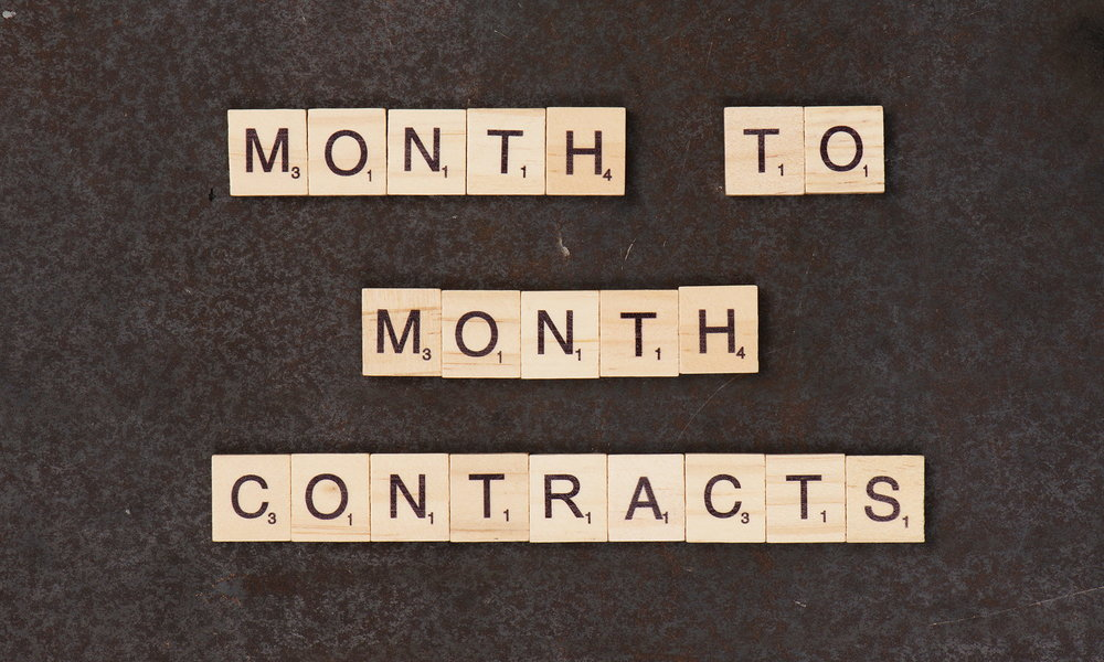 Month to Month Contracts