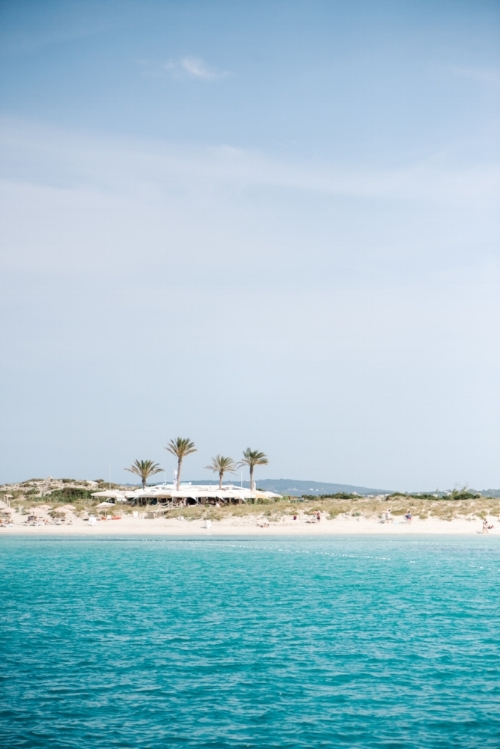 We hopped over to Ibiza's baby sister Formentera by private boat and were greeted by white sand, turquoise waters and divine seafood restaurants. The charm and wild beauty of this tiny island never gets old!