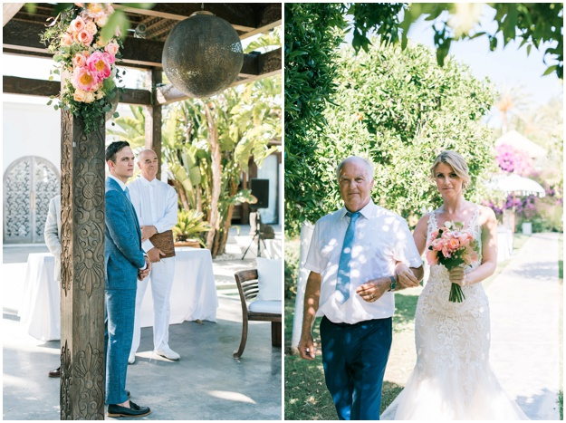 vibrant wedding (photography) at atzaro, Ibiza