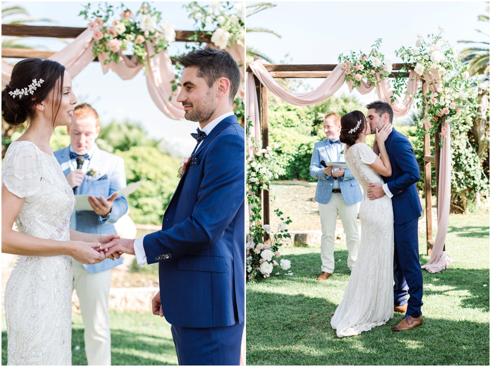 Ibiza garden wedding at Can Gall