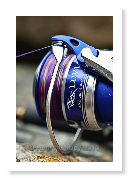 Been using a new spinning reel henry gilbey for Most expensive fishing reel