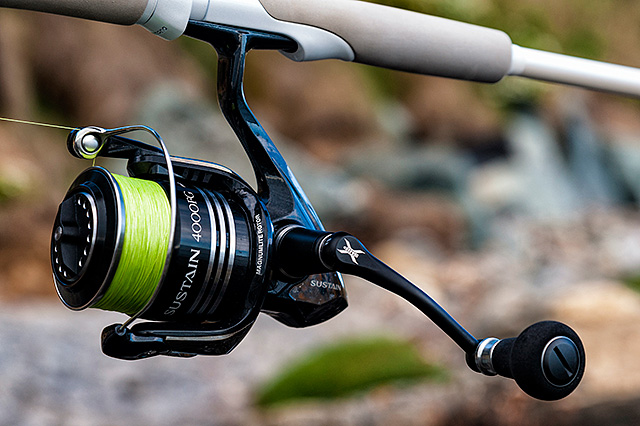 Shimano Sustain 4000FG Spinning Reel Review Henry Gilbey