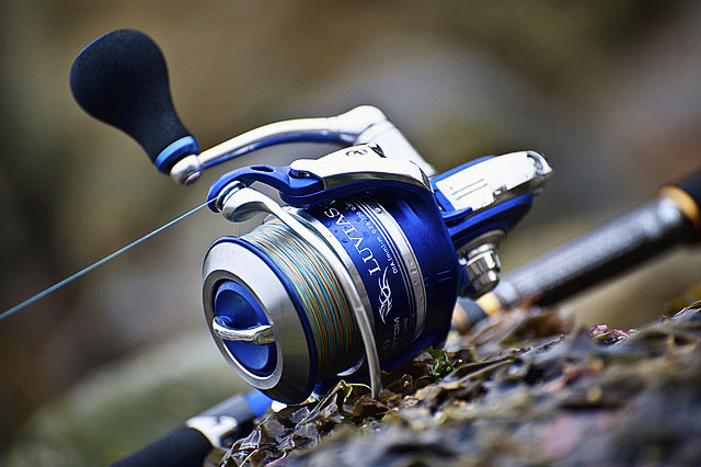 Daiwa exceler 3000 ha spinning reel earlyish review under for Most expensive fishing rod