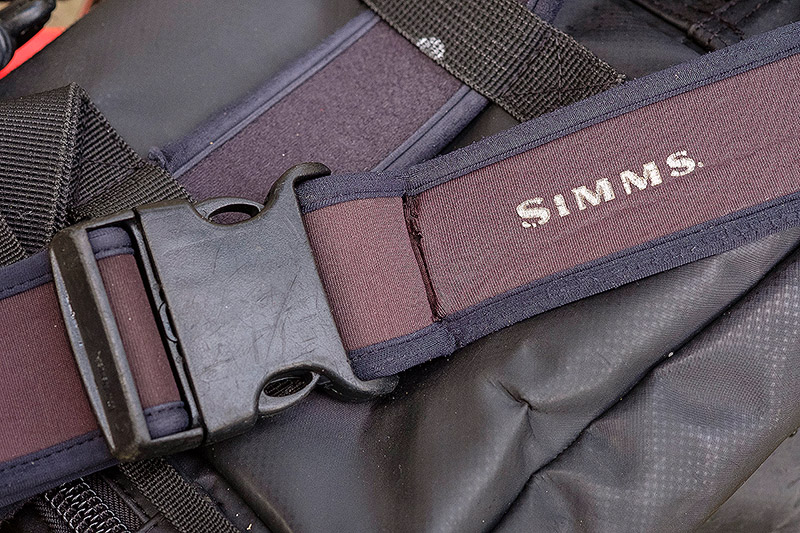 Simms Neoprene Wader Belt - Ever since I first started using the HPA Chest Pack, I have worn it around my waist on a Simms Neoprene Wader Belt that I think I bought out in Canada many moons ago now. You can get them in the UK.