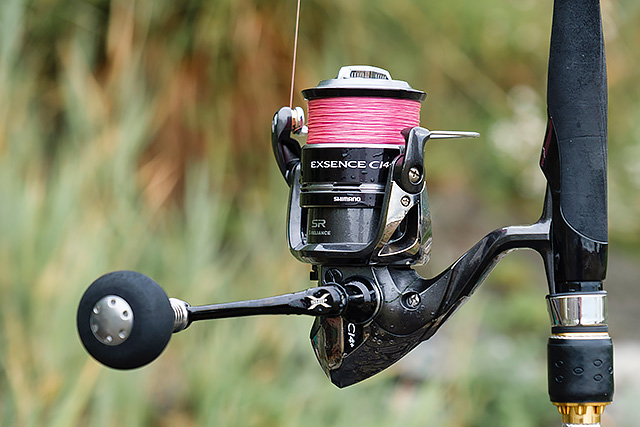 Shimano Exsence C14+ 4000XGS (discontinued) - How could a lure angler not like fishing with this Shimano Exsence C14+ 4000XGS spinning reel? It's light, it feels wonderfully smooth, it's got a really good handle, indeed the only unknown I have is how long it will stay nice and smooth via plenty of fishing - all good so far and I really like this reel. Doesn't come with a spare spool which kinda niggles me. See my review here.You can buy this reel here (Ebay link).