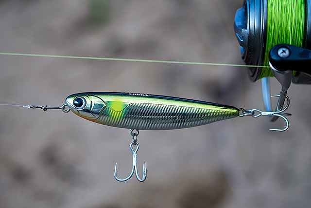 IMA Pugachev's Cobra - Strange name, but a killer little surface lure. The IMA Pugachev's Cobra (90mm, 12g) is one of those walk the dog little surface lures that is so worth turning to in calmer, clearer conditions when you can be so subtle with it. Bass love it, the lure casts very well for its size, and I find myself carrying this lure more and more.You can find UK stocks of this lure here and here.