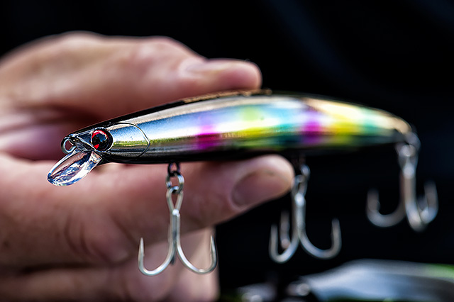 IMA Hound 125F Glide (discontinued) - I am not personally aware of a 125mm size lure that casts as far as this freak of nature, the IMA Hound 125F Glide (125mm, 20g, perhaps with a little rocket inside it ?). It just plain flies out in any kind of weather, and I have yet to find sea conditions in which it cannot grip down hard and keep you fishing. Oh, and it has a stunning action that bass love!Affiliate links (my sincere thanks if you choose to buy via these): JDMFishingTackle