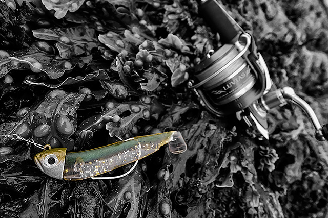 Fiiish Black Minnow - 20g Shore Head/120mm body - The 20g Shore Head that is designed to fit with the 140mm Black Minnow body makes for a great combination with my favourite shore fishing 120mm size body. I turn to this in rougher conditions and stronger currents as it gives me more control. I could of course use the 25g Off Shore Head that is meant for the 120mm body, but I like the shape and lighter weight of that 20g Shore Head and the way it behaves when I am shore fishing. And it works - check here.Affiliate links (my sincere thanks if you choose to buy via these): Lurefishingforbass.co.uk, Veals Mail Order