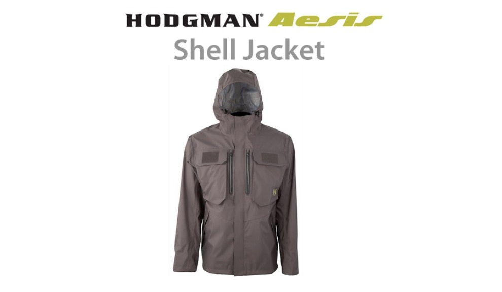 Hodgman Aesis Shell (waterproof) Jacket - A US brand that makes some serious gear for anglers, and I am hugely impressed with their very easy to wear and properly designed for fishing Hodgman Aesis Shell Jacket. I can't fault this thing. See my review here.