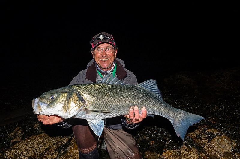 Ireland last year - 11lb bass for Steve