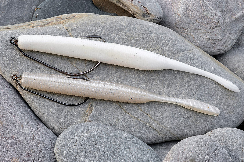 6'' DoLive Stick (top), 5.4'' Laggin' Dragon (bottom)