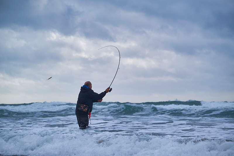 The rather impressive Apia Grandage 100M 10' 12-42g lure rod in action