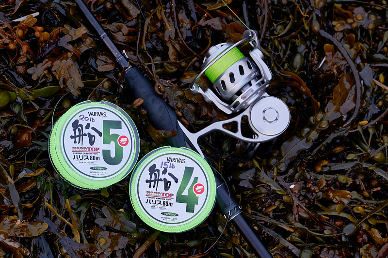 Varivas Hard Top fluorocarbon - What's not to like? There's nothing I don't like about this Varivas Hard Top fluorocarbon as a leader material for my lure fishing, and the fact that it's not very expensive and comes on 80m spools suits me down to the ground. Seems to be very abrasion resistant.Available here in the UK (Ebay link).Leader material of the year 2018.