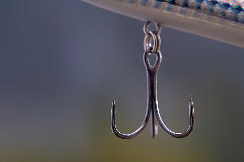 My go-to bass fishing bits and pieces -
