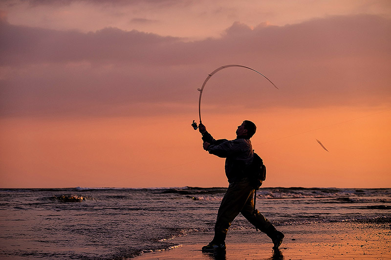 Do you have any idea how far you can cast certain lures, and