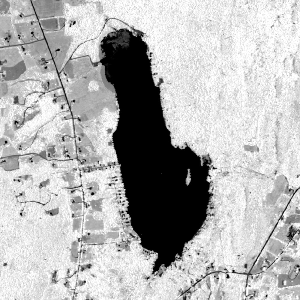 NDVI applied to NAIP Imagery