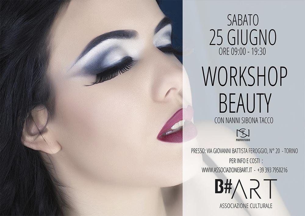 WORKSHOP BEAUTY TORINO NANNI SIBONA TACCO B#ART