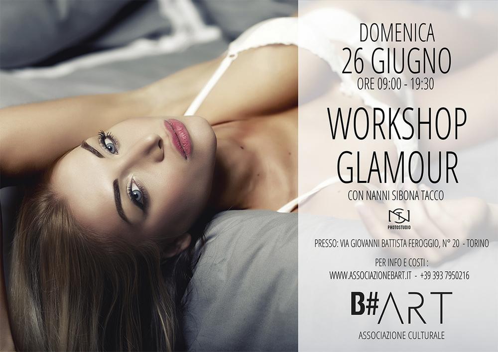 WORKSHOP GLAMOUR TORINO NANNI SIBONA TACCO B#ART