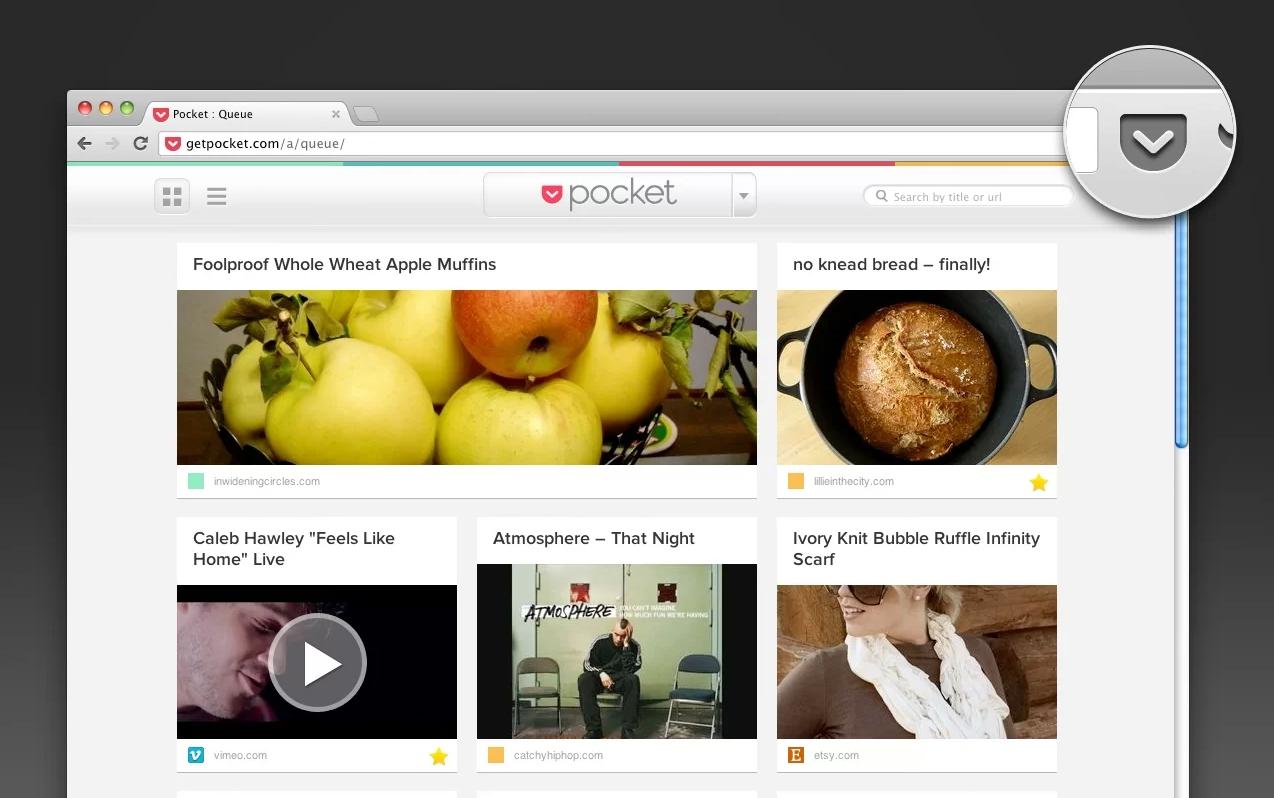 Pocket Chrome Extension