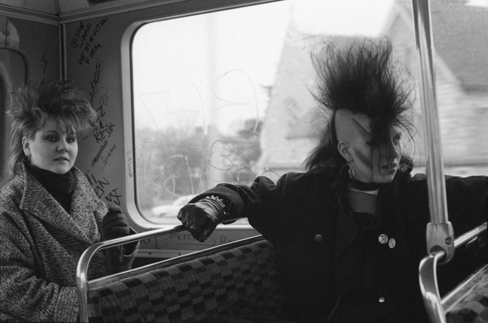 E Sheet 36 Neg 34a. Chigwell Punk Girls on Bus.jpg