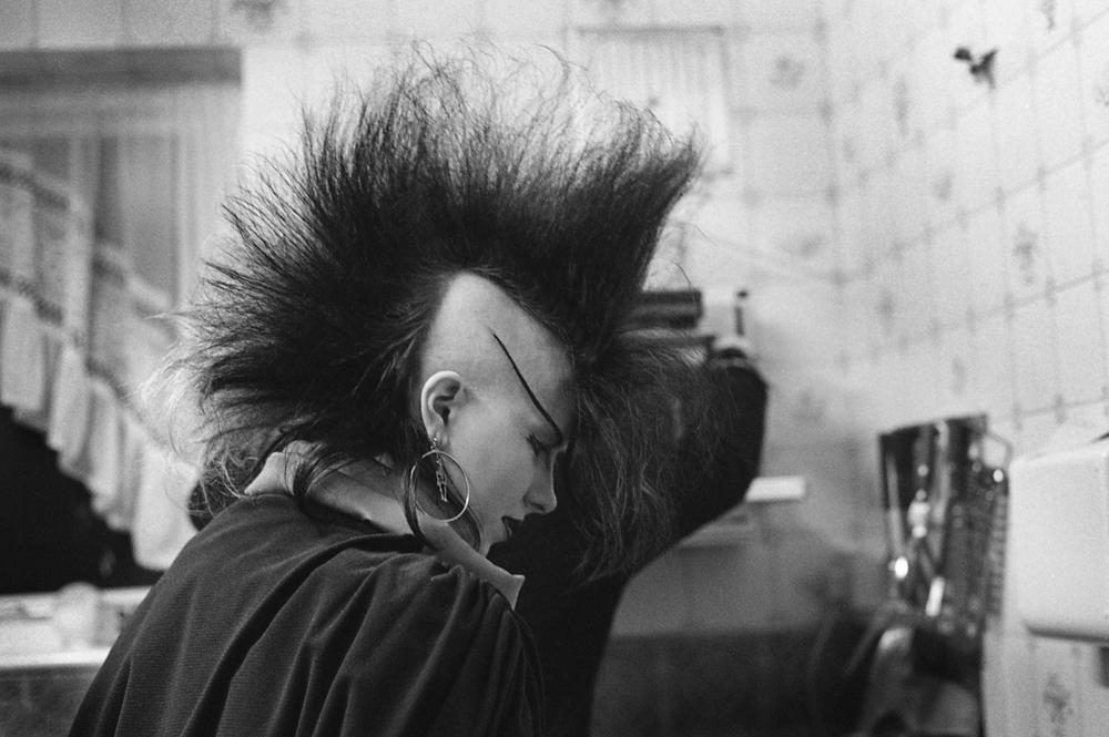 E Sheet 36 Neg 14a. Chigwell Punk Girl in Kitchen.jpg