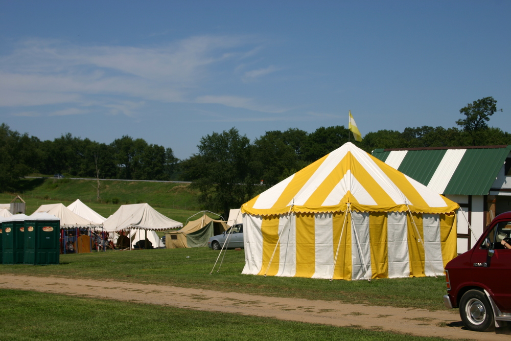 Pennsic War Tent