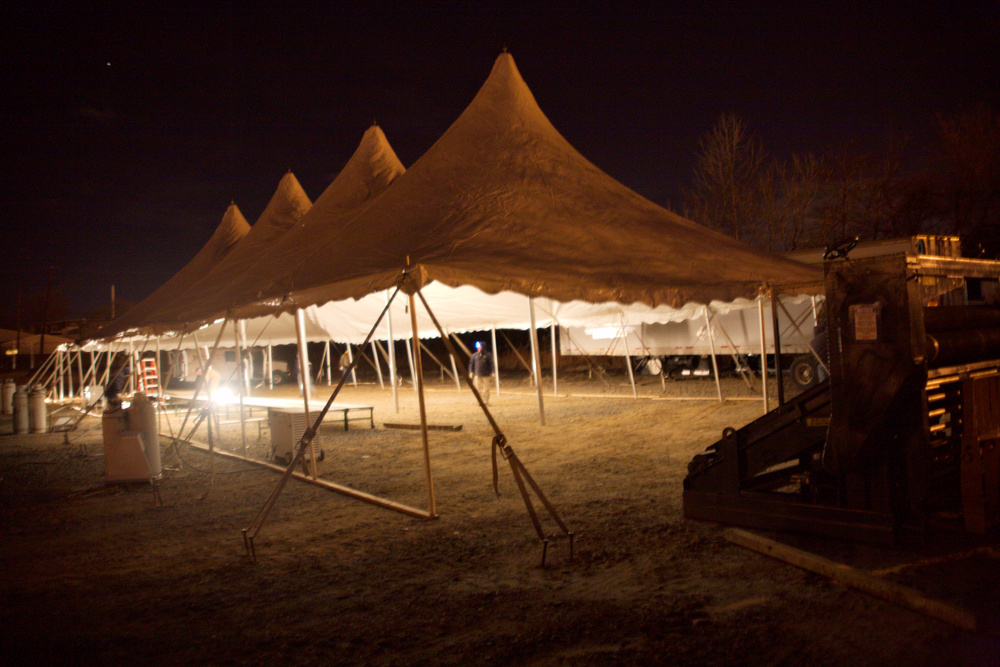 Fabrication Tent