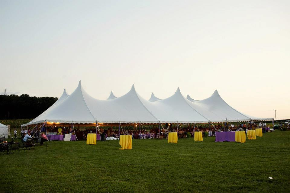 80x130 white wedding tent for rent