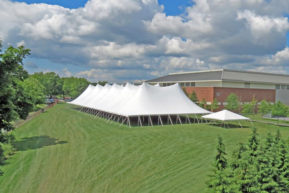 100x260 white tent