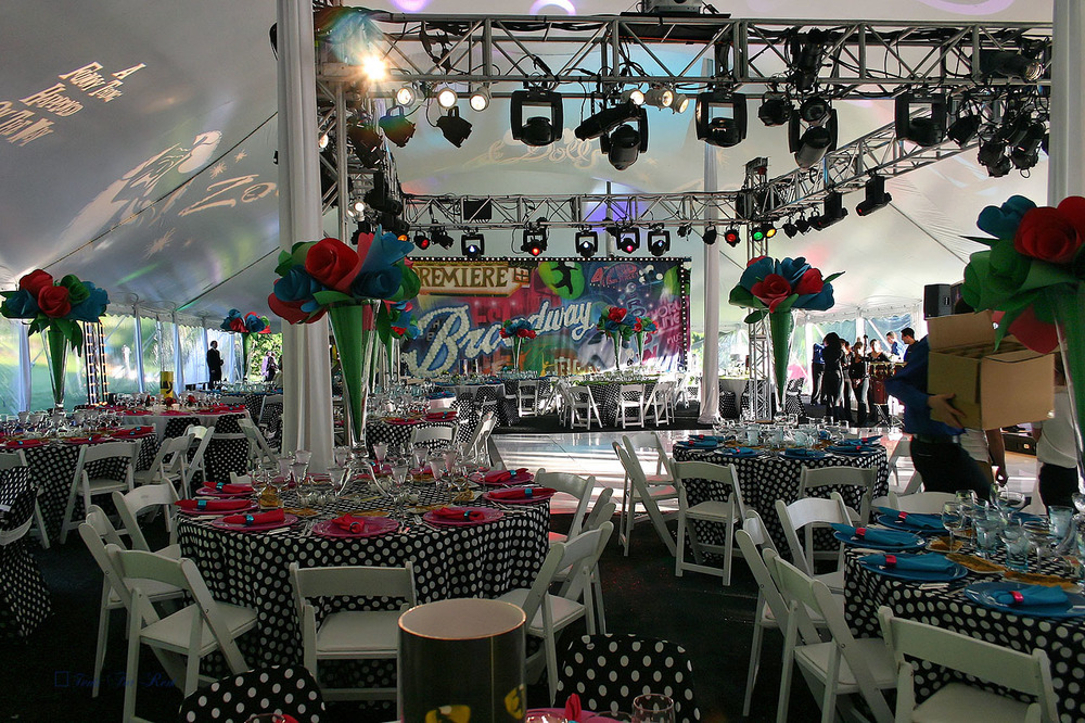 60x130 white party tent