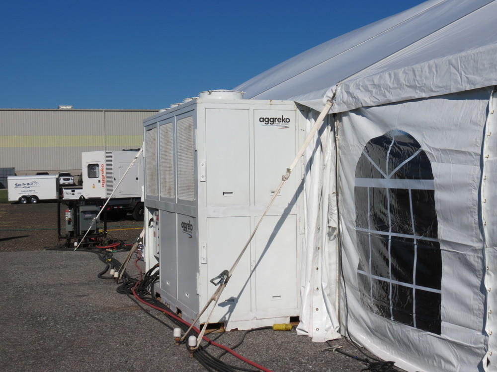 Tent Air Conditioning rental