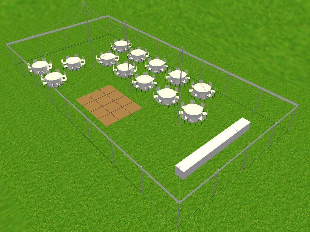 40x80 tent rental Lancaster
