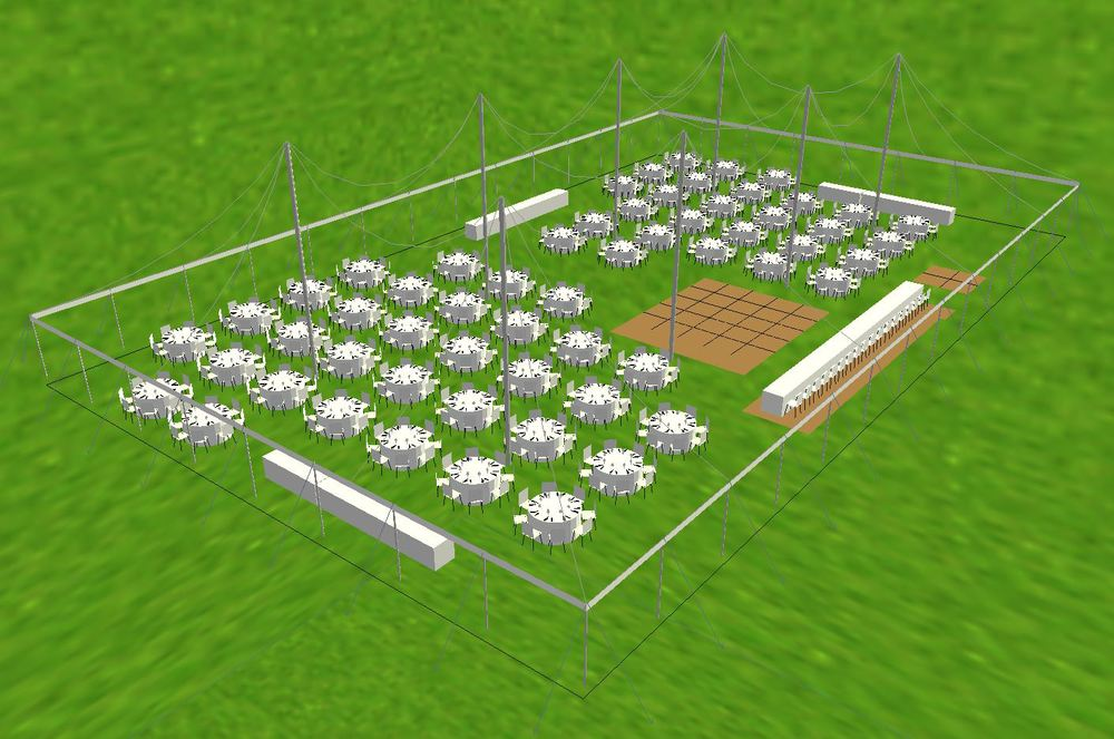 80x130 tent