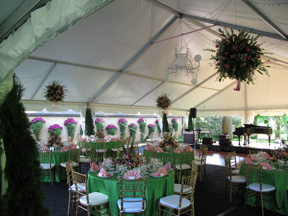 Special event tent for rent in Ephrata, PA