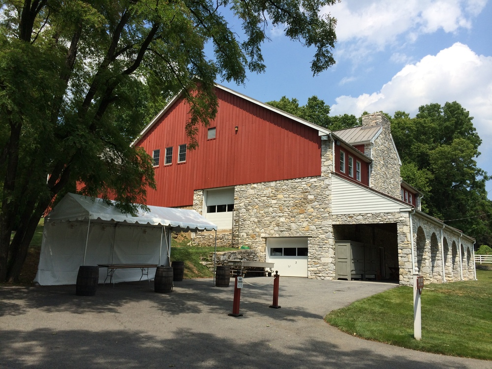 Outdoor event tent for rent in Ephrata, PA