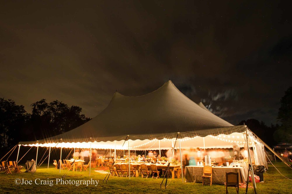 Tent lighting rental in Maryland