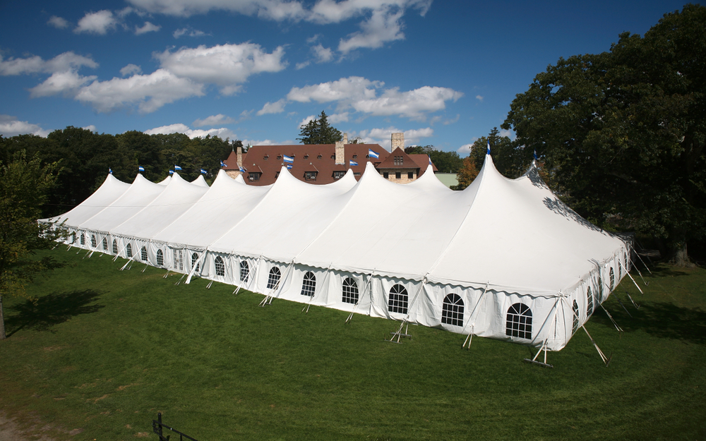 Large tent rentals in Maryland
