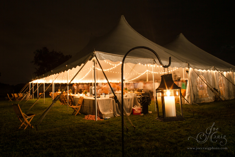 New Jersey Tent lighting for rent