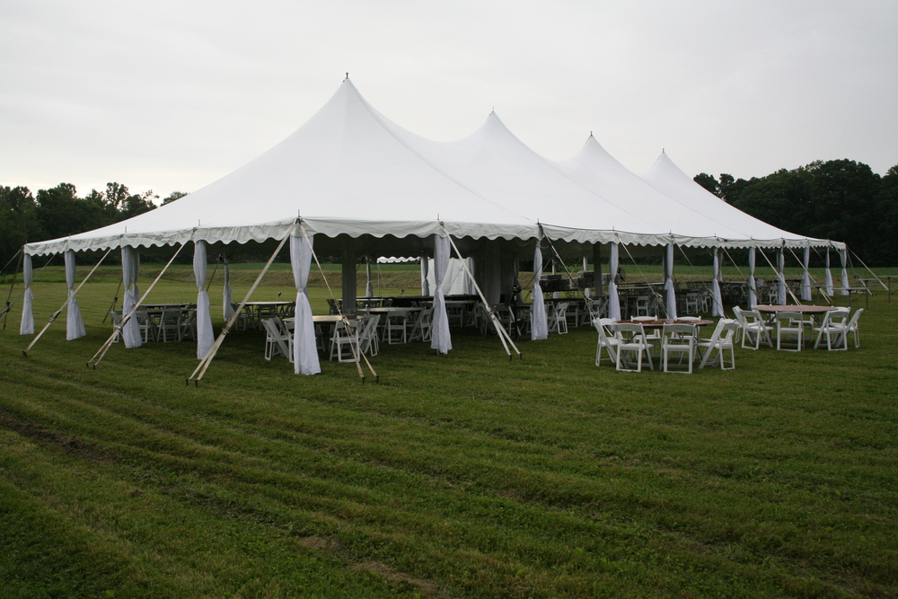 Northern PA wedding tents for rent