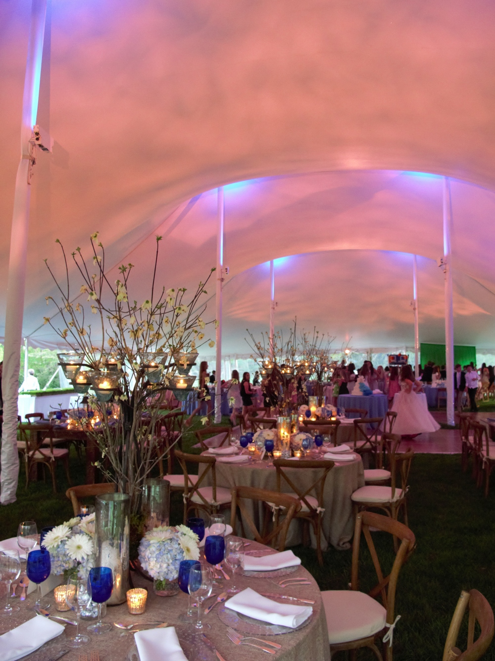 Large event tents for rent in Virginia