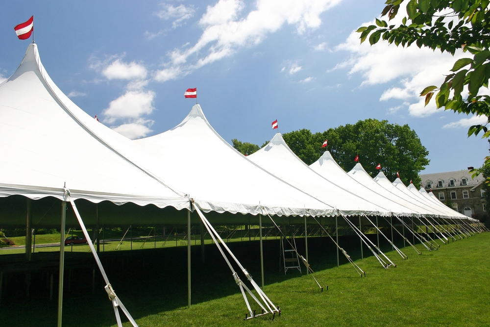 Large tent rentals in Chester, PA