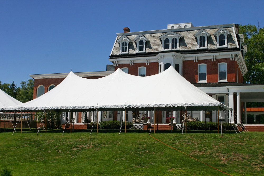 Wedding tents for rent in Gettysburg, PA