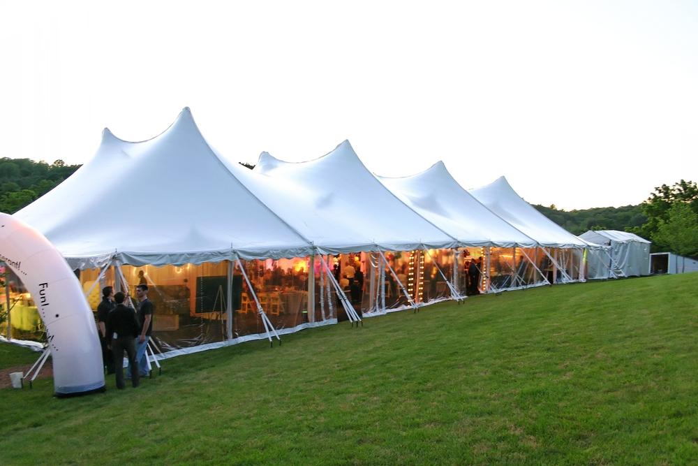 Rental tent lighting in Allentown PA