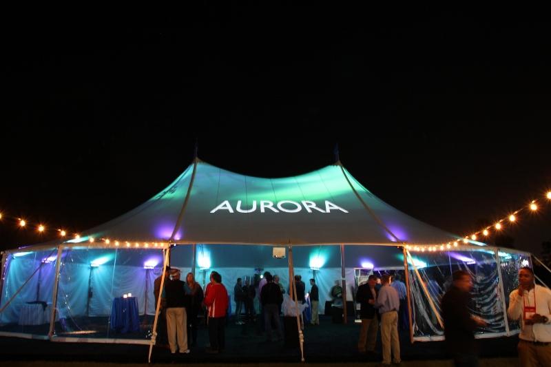Aurora sailcloth tent