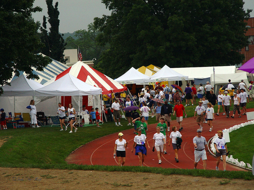 Relay for Life tents